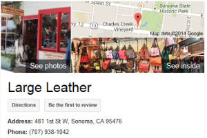 Sonoma Large Leather