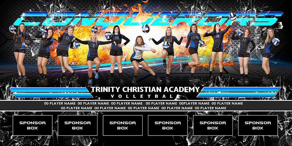 team xtreme BANNER grid fire